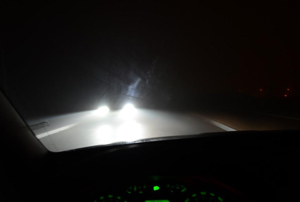 Autoškola v noci