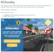 Bezpečné cesty.cz - Autoškola - Křižovatky