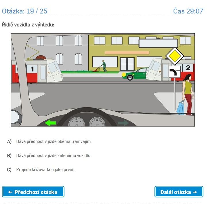 Online testy autoškol