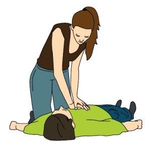 Resuscitace - nepřímá srdeční masáž