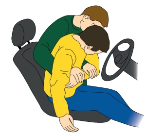 Vyproštění zraněného z vozu