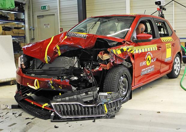 Ukázka výsledku – ŠKODA Fabia (Euro NCAP 2014)