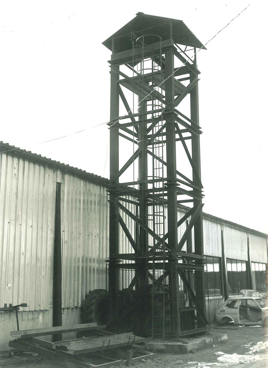 1975 otevření zkušebny v Ávii