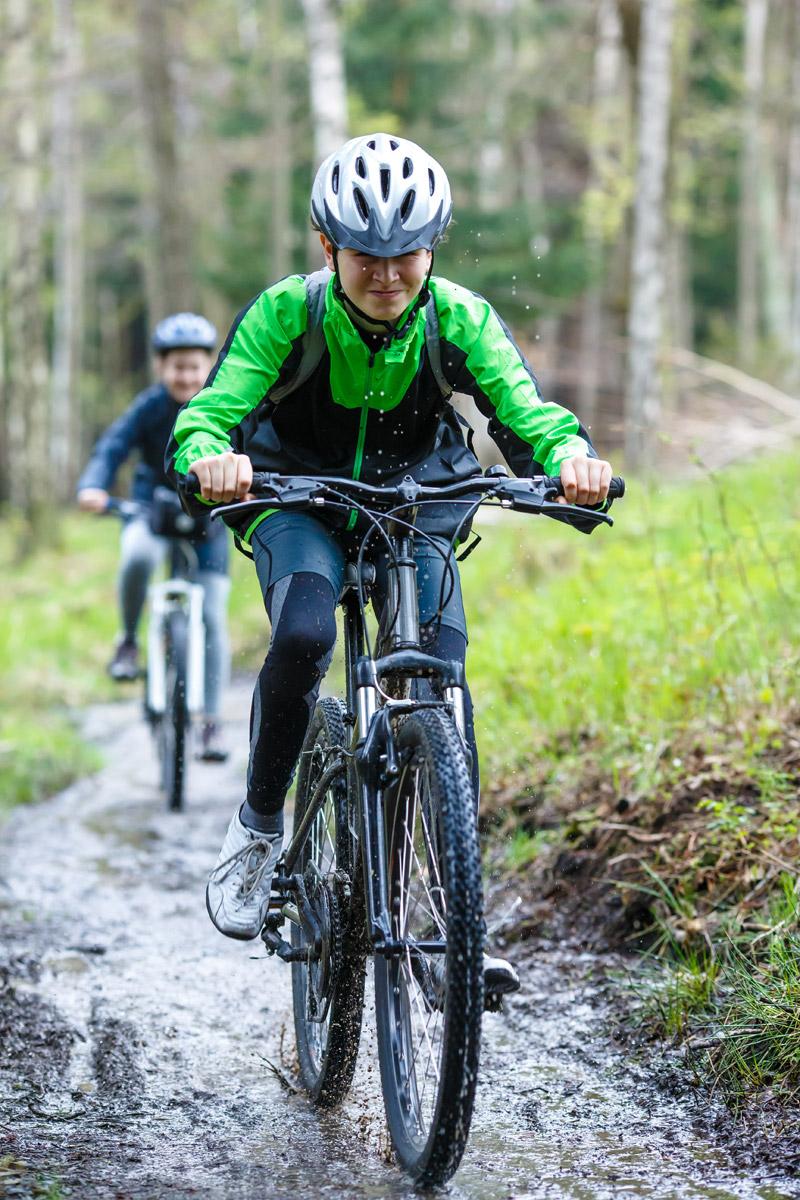 Cyklisté mimo silnici, nebezpečí