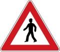 Dopravní značka - Chodci