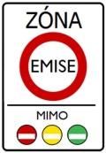 Dopravní značka - Emisní zóna
