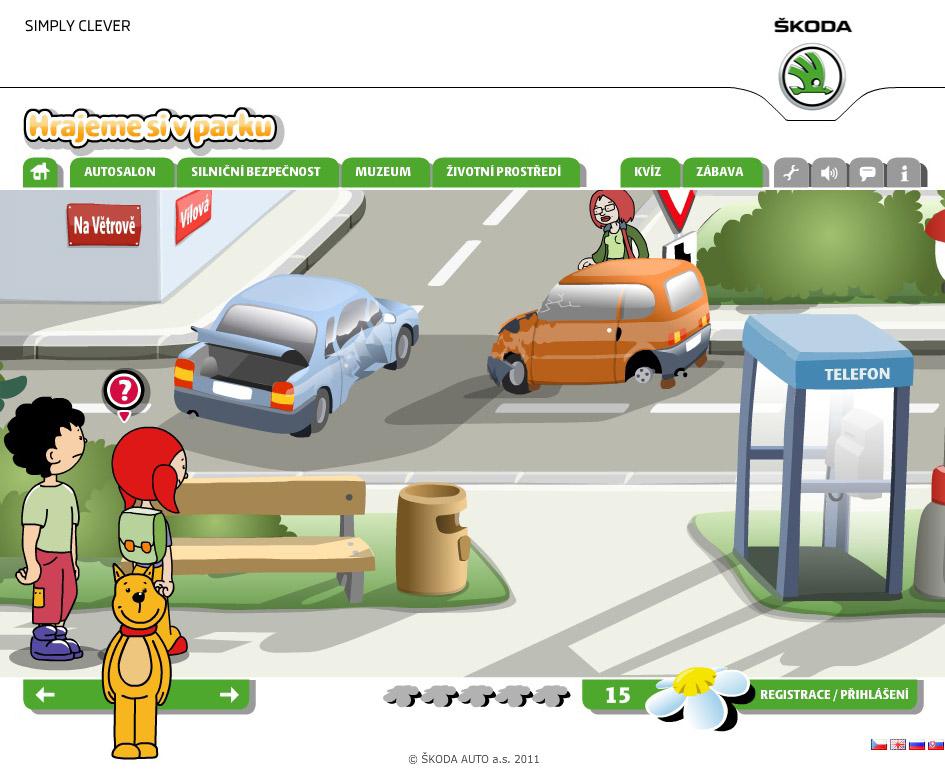 Svědek dopravní nehody