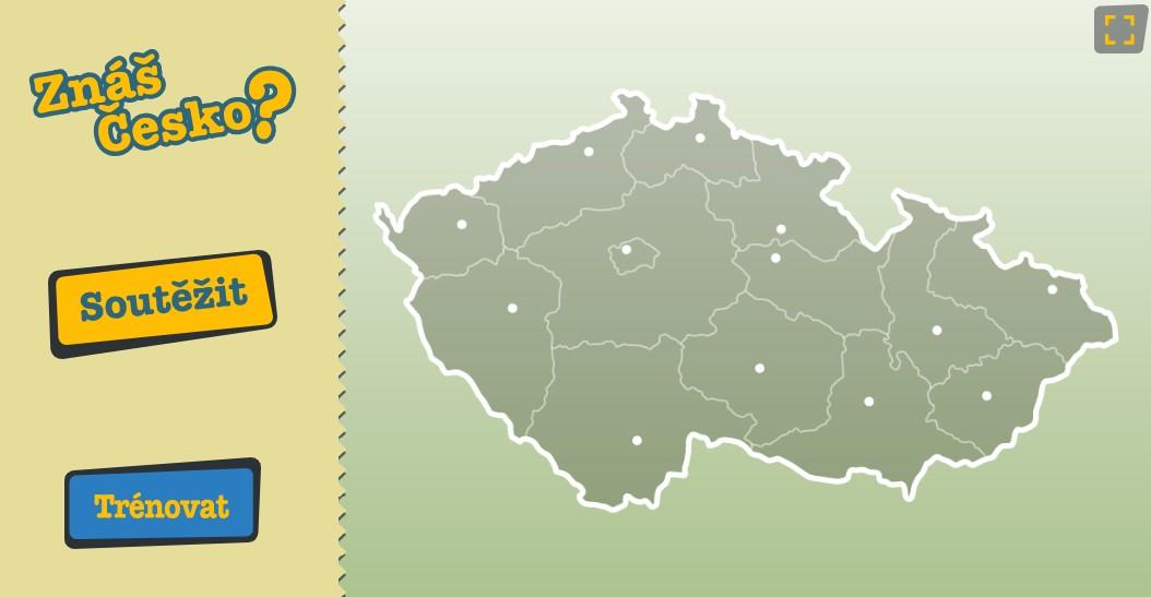 Soutěž Znáte Českou republiku