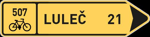 Směrové tabule pro cyklisty