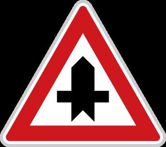 Křižovatka s vedlejší pozemní komunikací