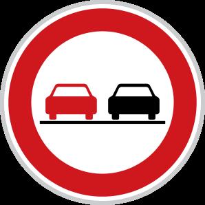 Zákaz předjíždění