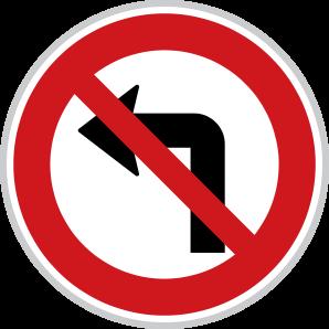 Zákaz odbočení vlevo