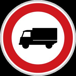 Zákaz vjezdu nákladních automobilů