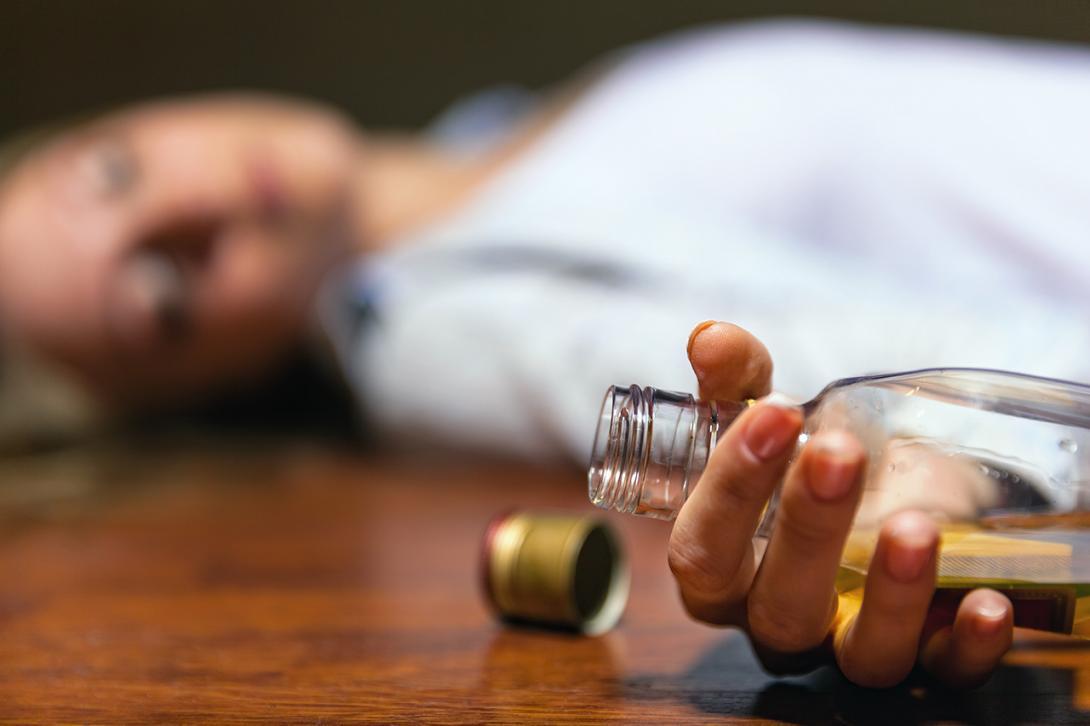 Těžká opilost, intoxikace