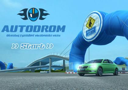 3D autodrom