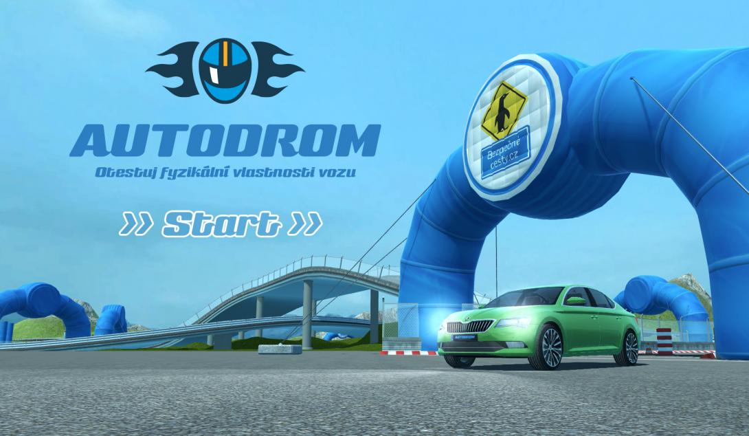 3D Autodrom - hra
