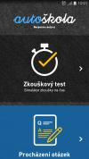 Autoškola - mobilní aplikace
