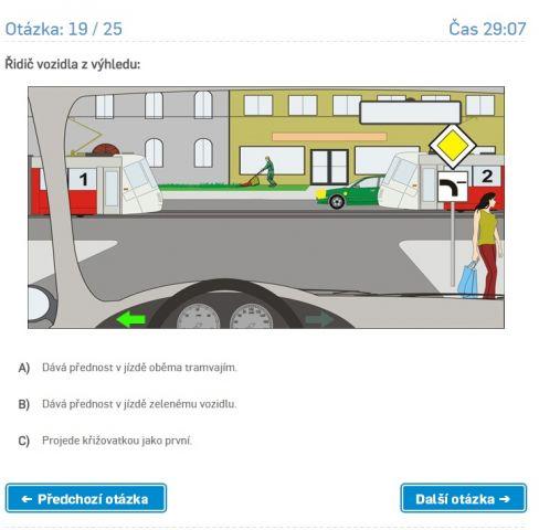 Autoškola - Závěrečný test