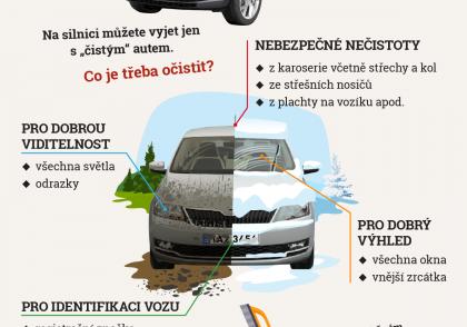 Správné očištění vozu