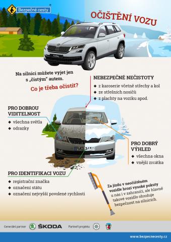 Očištění vozu