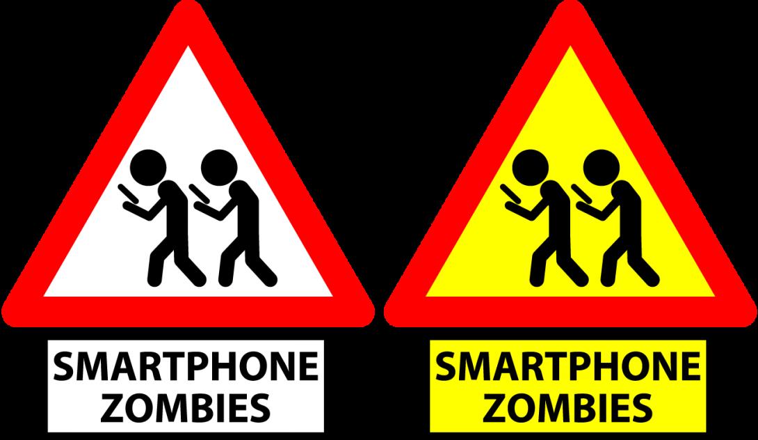 Smartphone zombies - značka