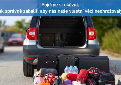 Dovolená - přeprava zavazadel
