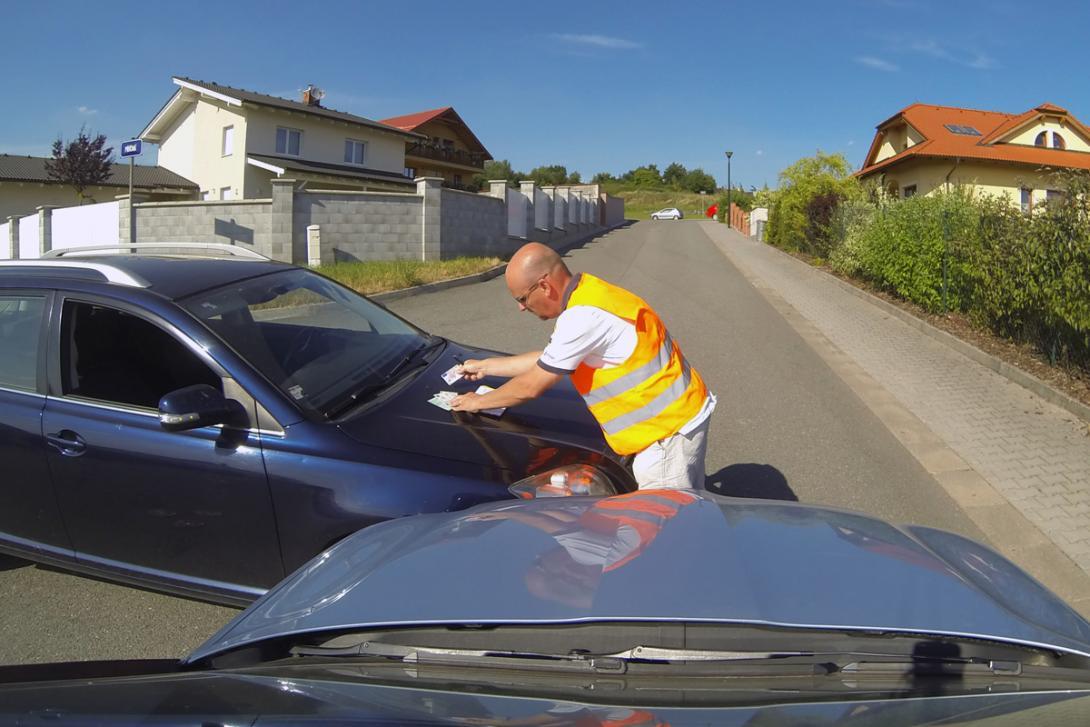Zajistěte co nejvíce údajů o vozidlech i jejich majitelích a pojistitelích