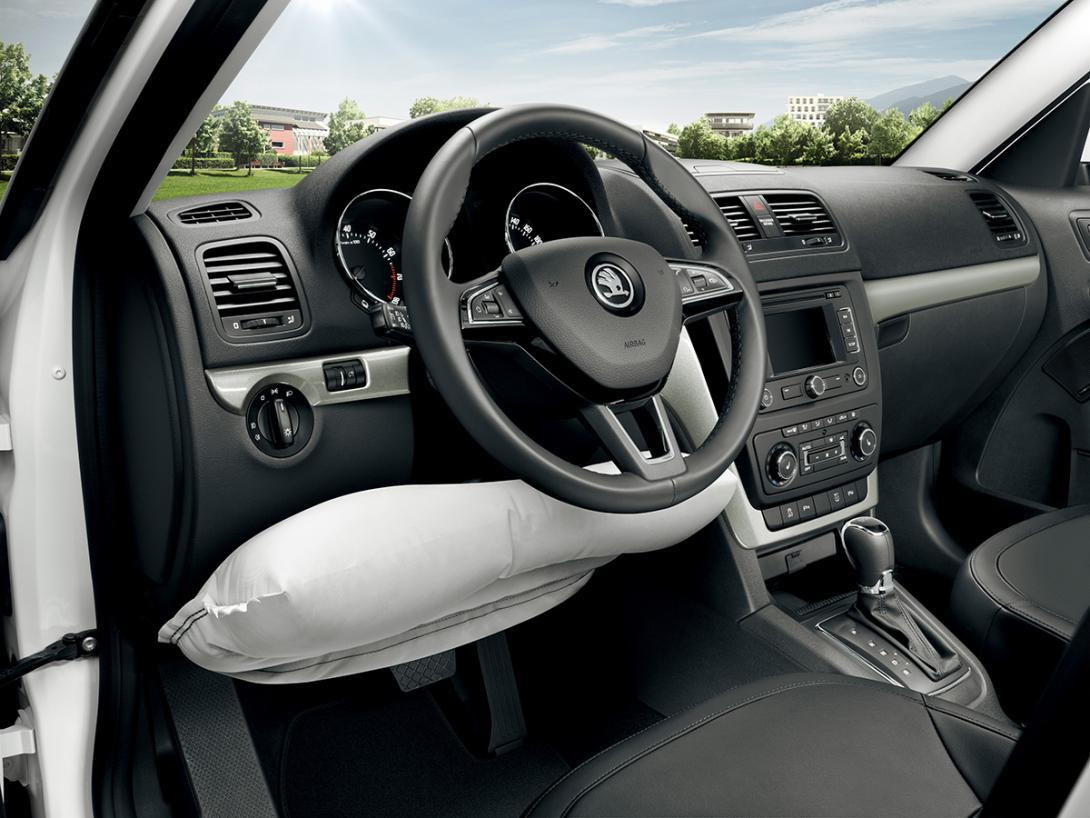 Kolenní airbag