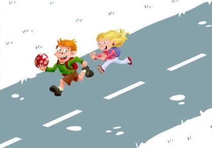 Prázdniny jsou zde a tak můžeme na našich cestách potkat častěji rozpustilé děti. Buďme opatrní a ohleduplní.