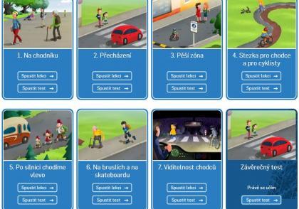 Prázdniny končí. Zopakujte si s dětmi správné chování v silničním provozu.