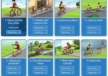 Co musí umět dítě jako cyklista?