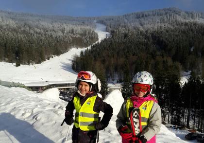 Bezpečné cesty i na lyžích
