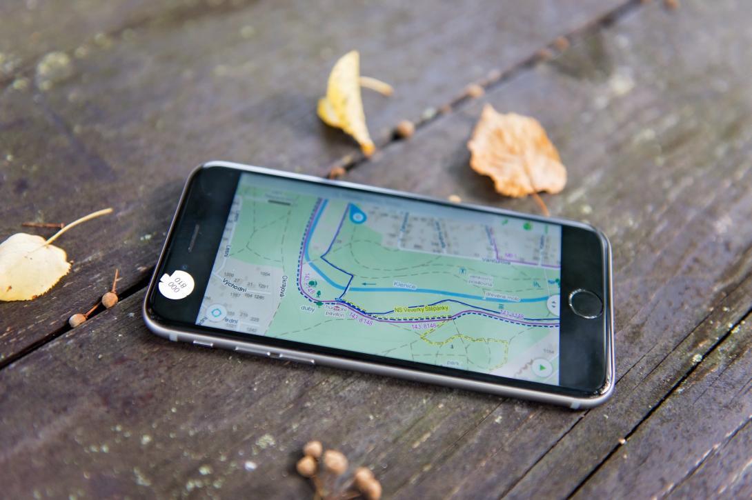 Cyklovýlet - plán cesty - mobilní aplikace