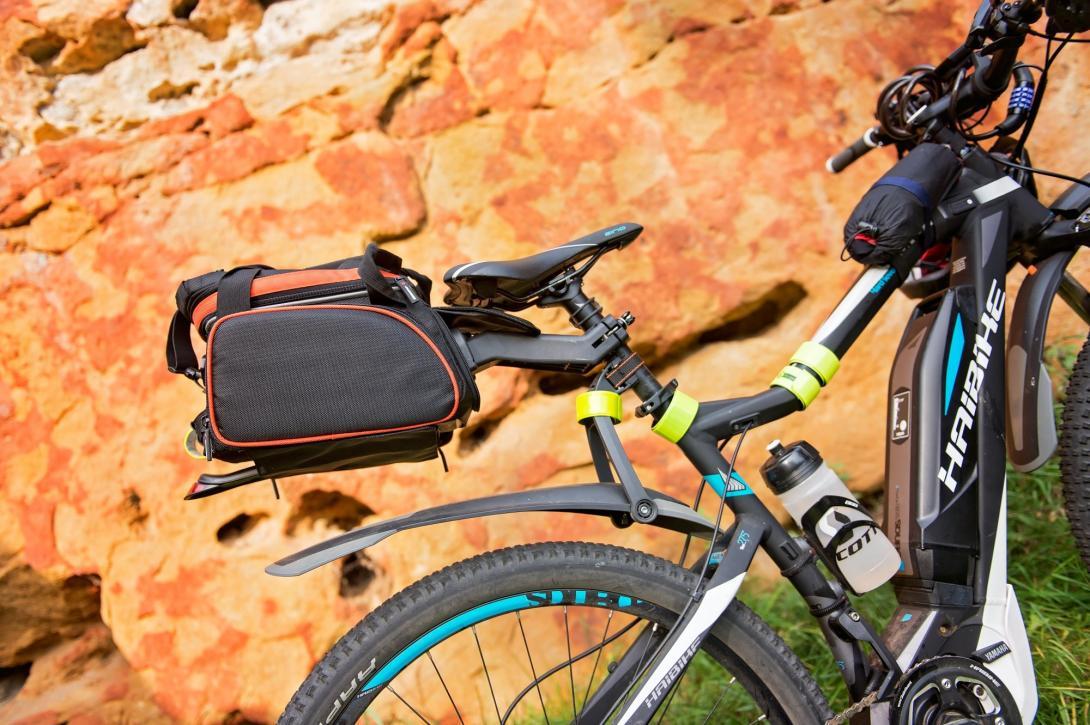 Cyklovýlet - brašny na kolo