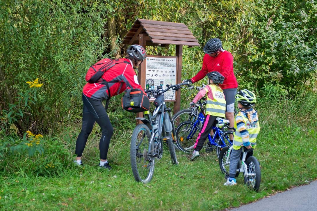 Cyklovýlet - zajímavosti na trase