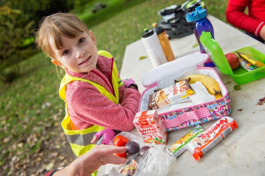 Cyklovýlet - vhodná svačina pro děti
