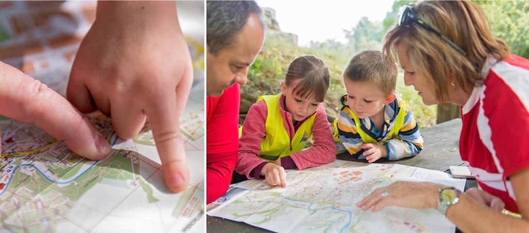 Cyklovýlet - plán cesty - mapa