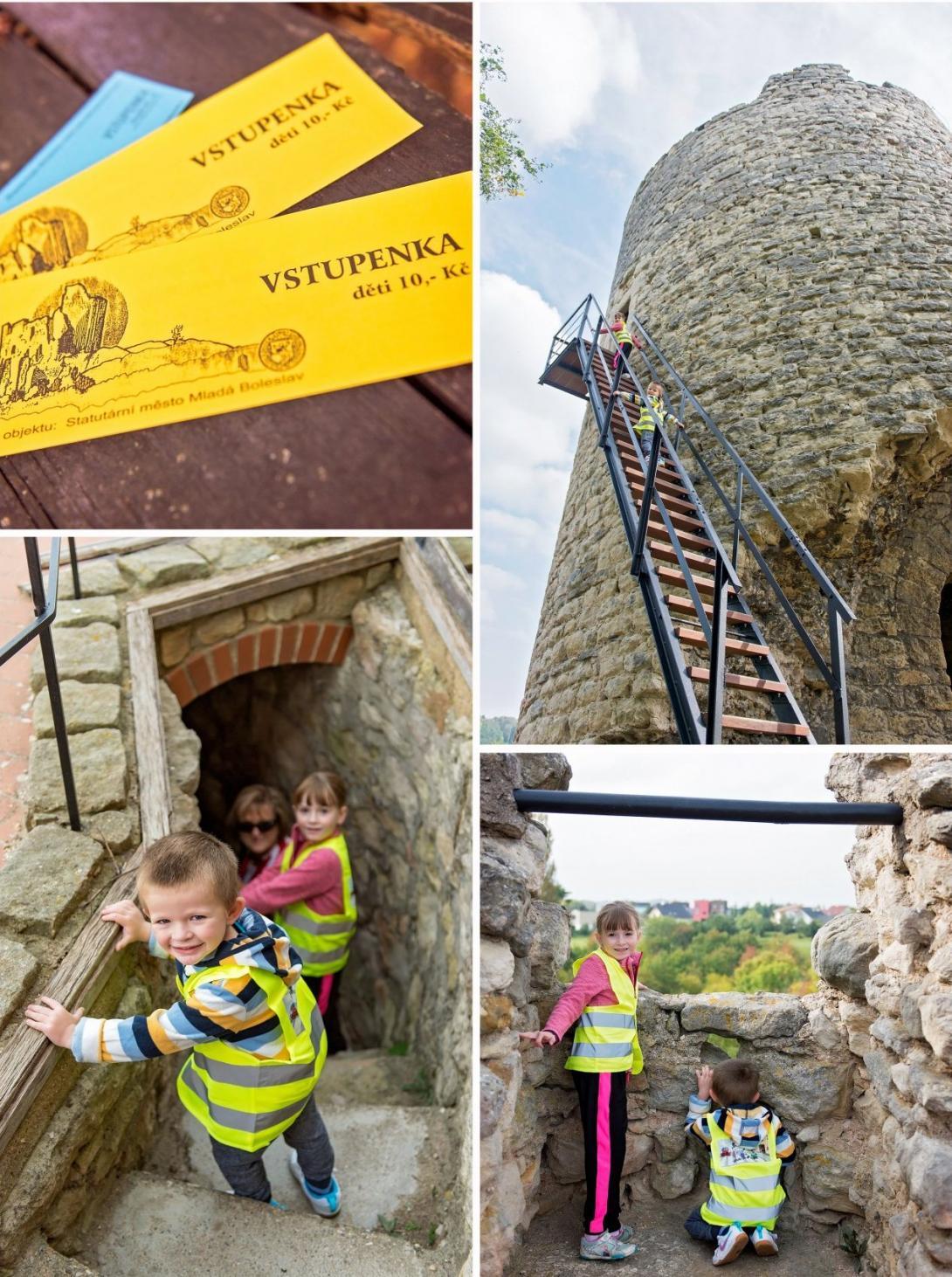 Cyklovýlet - návštěva zříceniny hradu