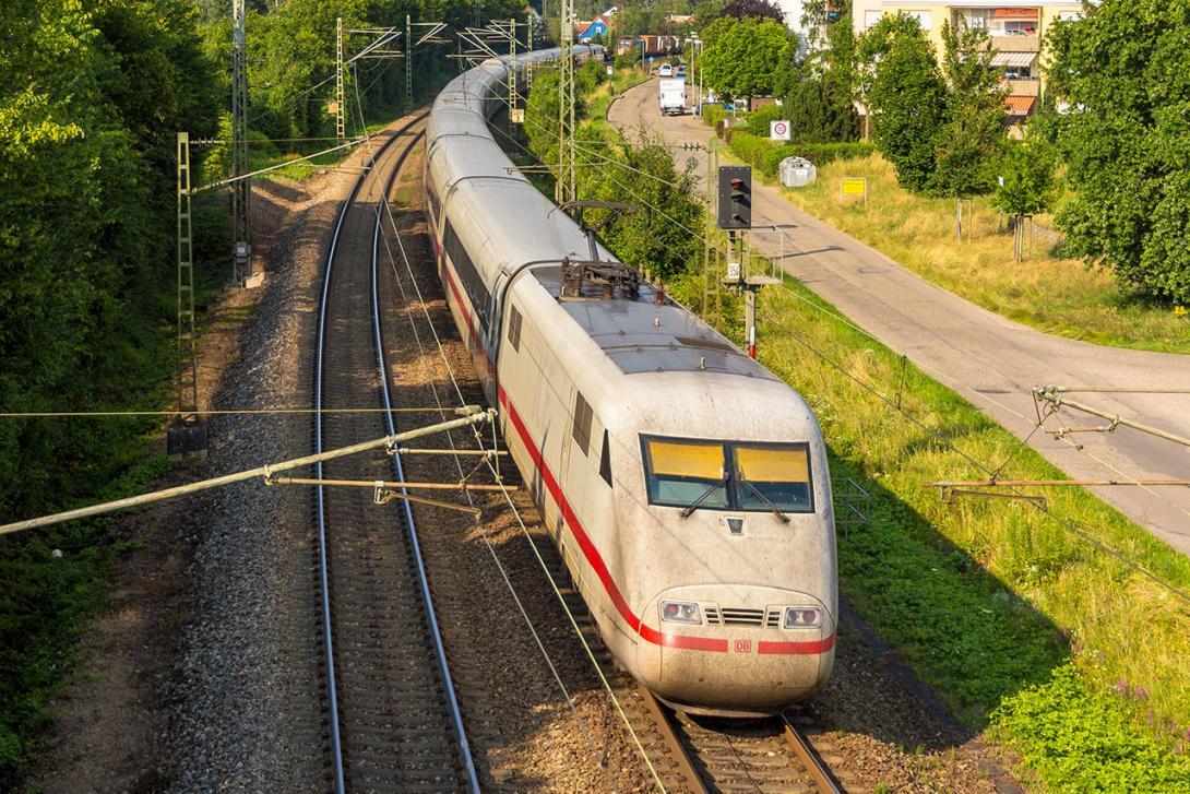 Dálková přeprava - vlak