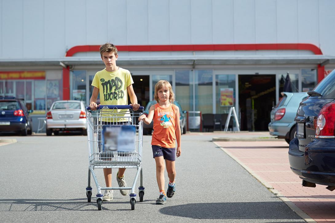 Řídíme nákupní vozík