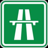 Dálnice - značka IZ1a