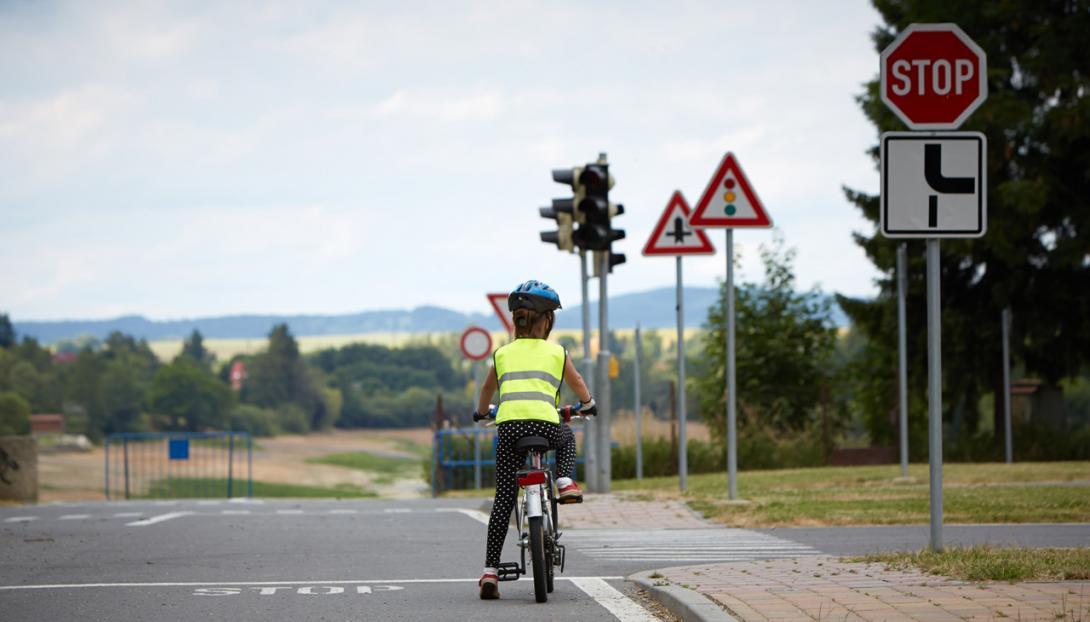 Procvičování silničních pravidel