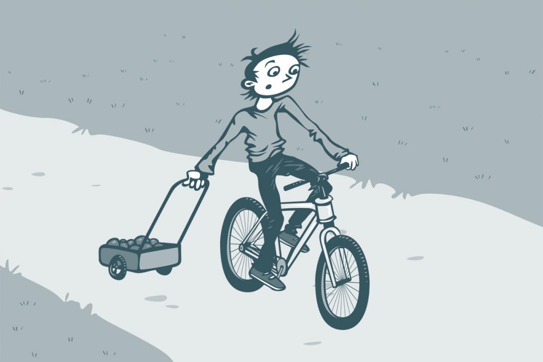 Jízda s ručním vozíkem