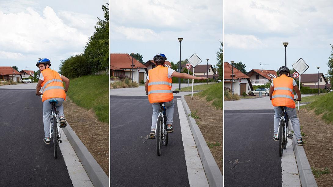 Zastavení na kole