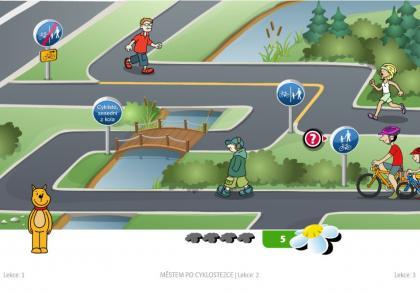 Naučte své děti jezdit po cyklostezce