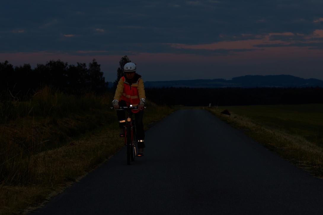 Správně: Viditelnost cyklisty