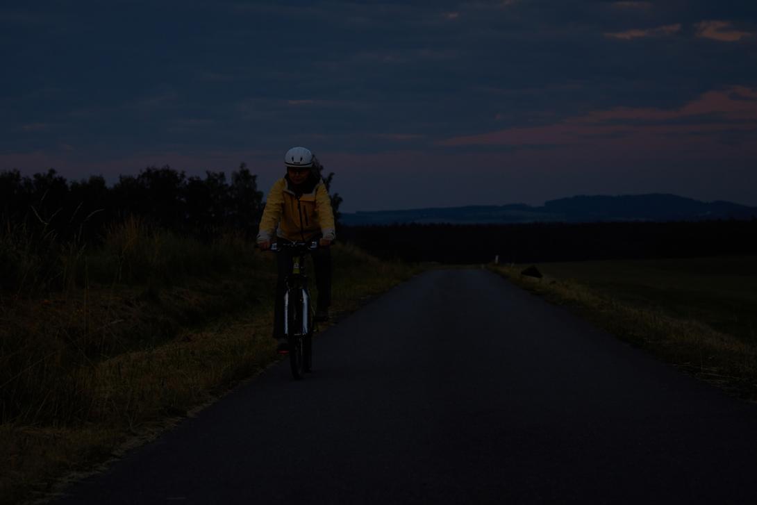Špatně: Viditelnost cyklisty