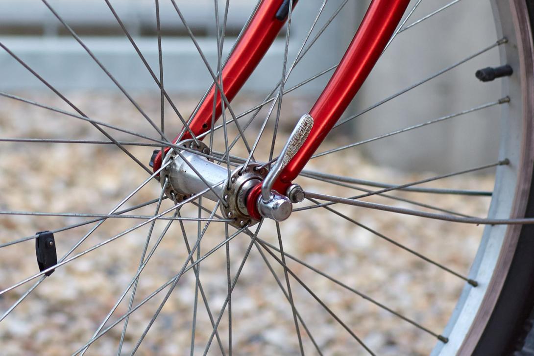 Žádné ostré hrany na kole