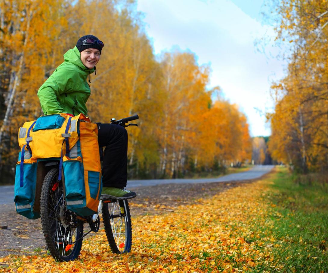 Přeprava zavazadel na kole