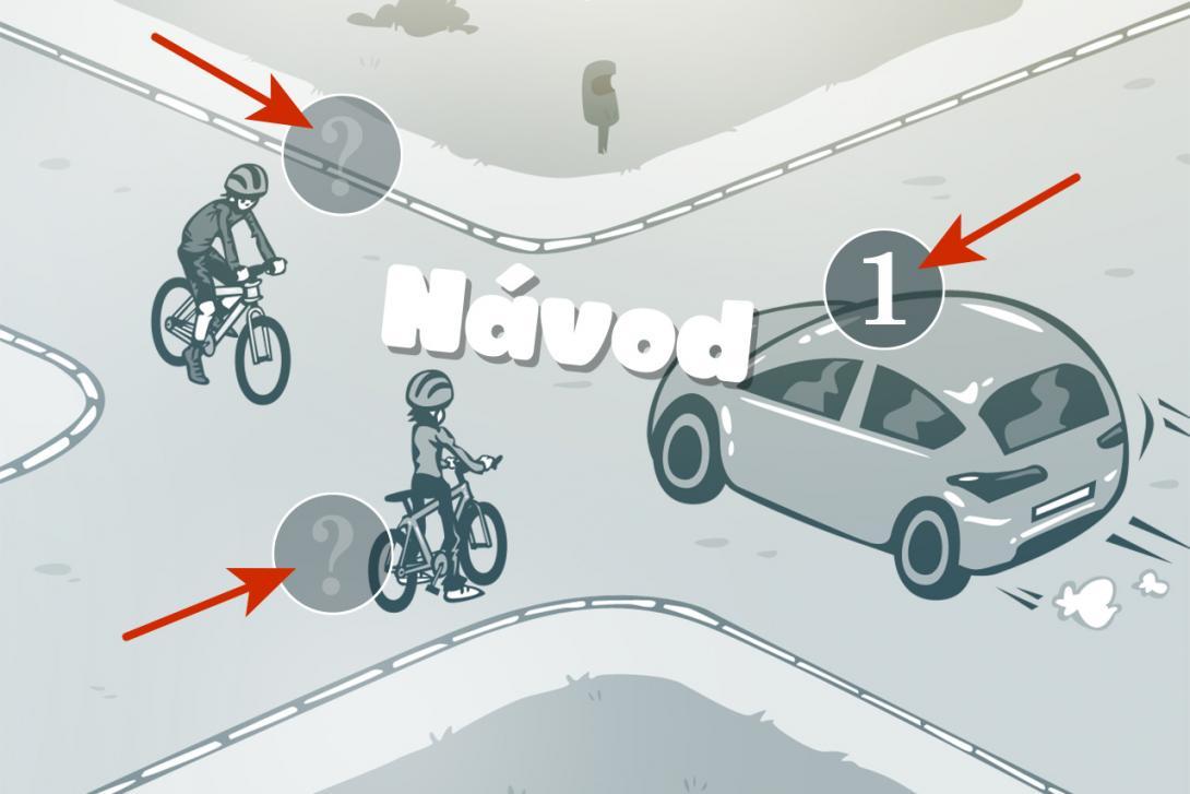Návod použití aplikace Křižovatky pro cyklisty